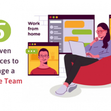 5 Proven Practices to Manage a Remote Team